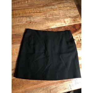 BCBGMAXAZRIA mini black skirt